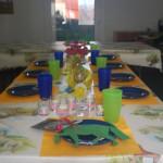 In unserem gemütlich zum jeweiligen Thema dekorierten Geburtstagsraum, lässt sich toll feiern.